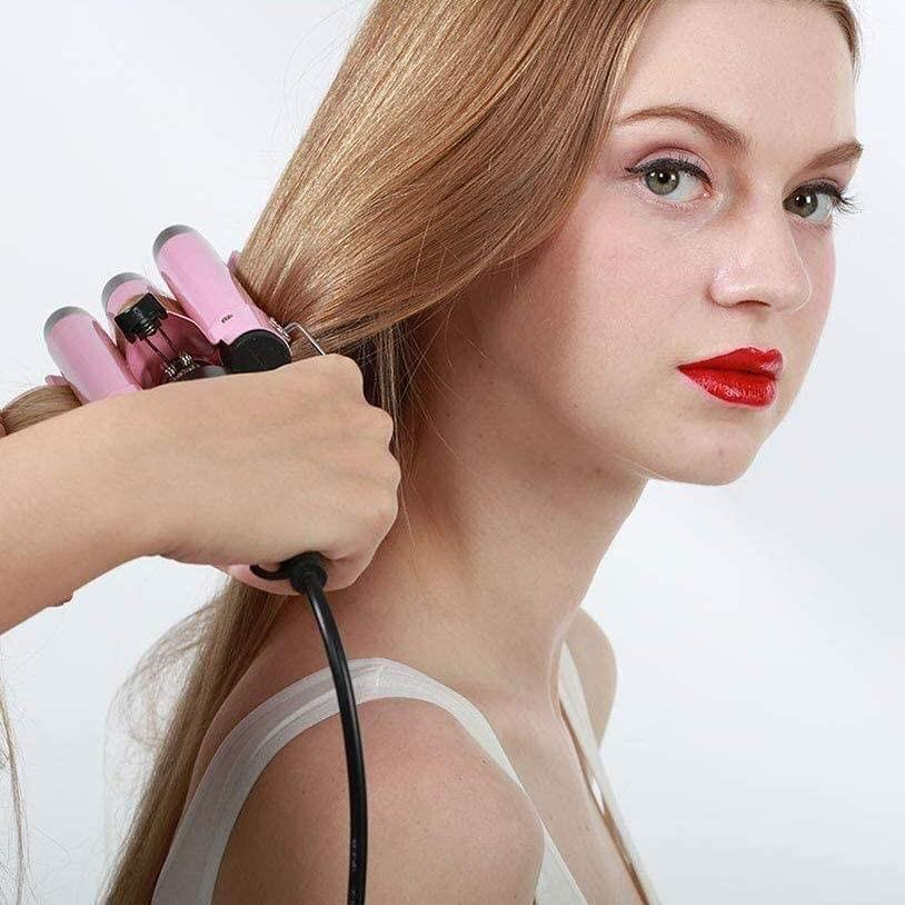 Trostruki uvijač za kosu